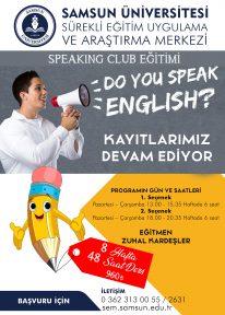 SPEAKING CLUB