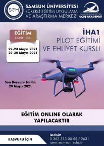 İHA 1 (İnsansız Hava Aracı) Pilot Eğitimi ve Ehliyet Kursu